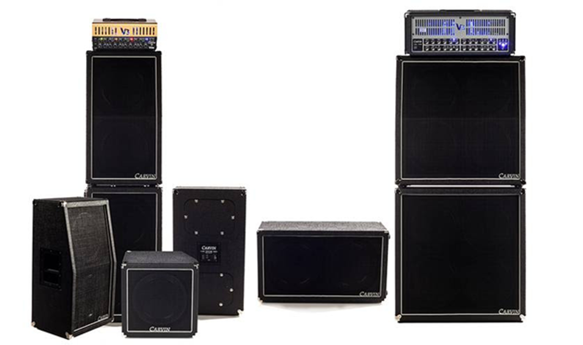 Carvin Introduces VX Series Birch Guitar Cabinets