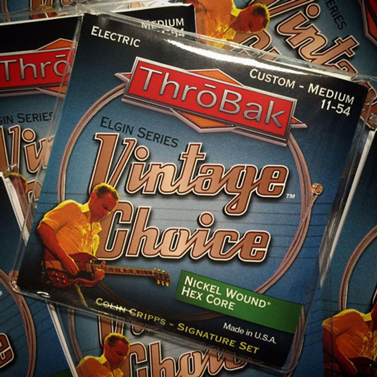 ThroBak Introduces Colin Cripps Signature Strings