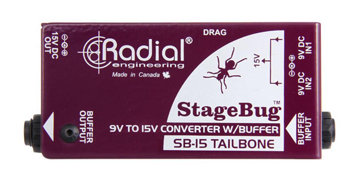Radial Engineering Introduces the SB-15 Tailbone