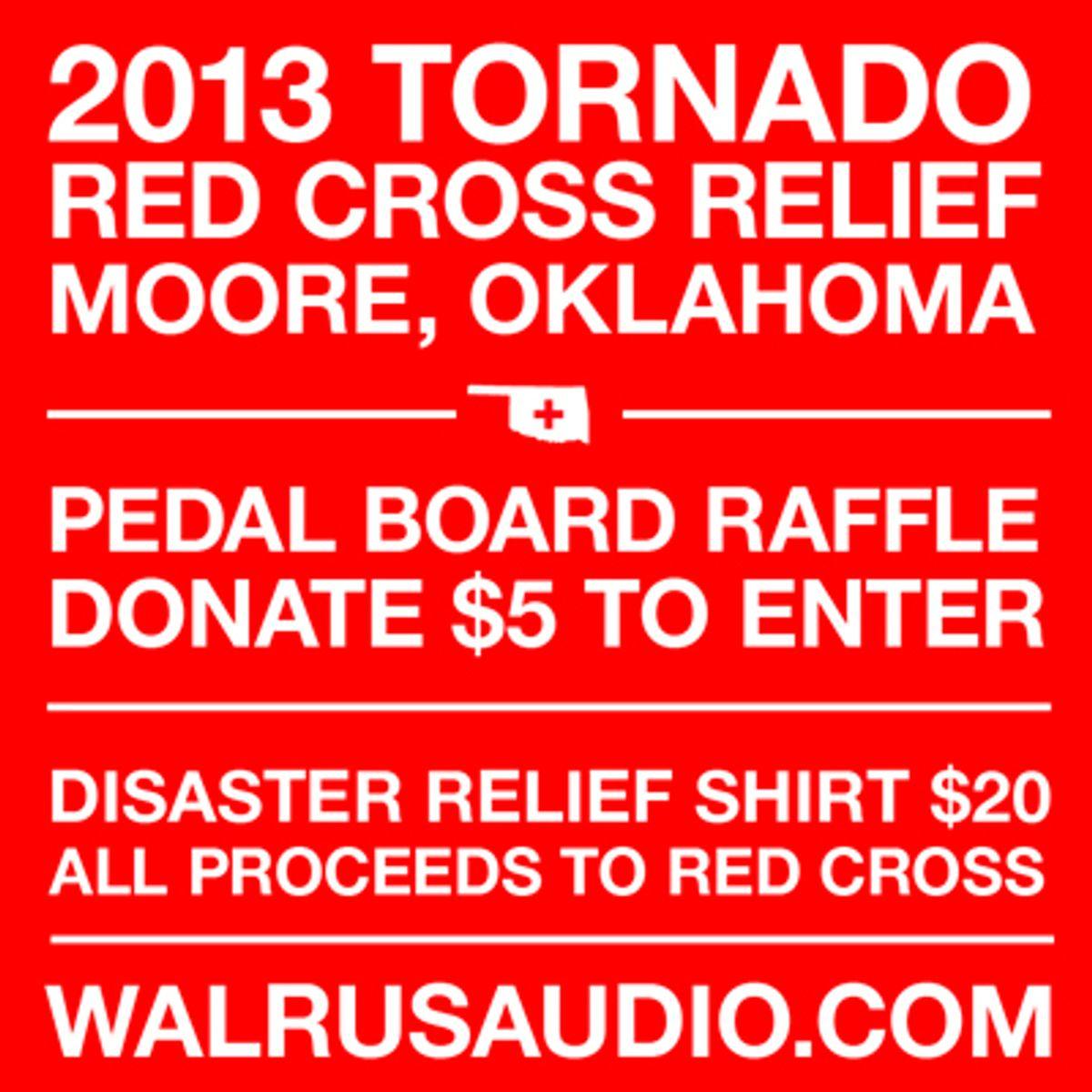 Walrus Audio Hosts Relief Fund for Oklahoma Tornado Victims