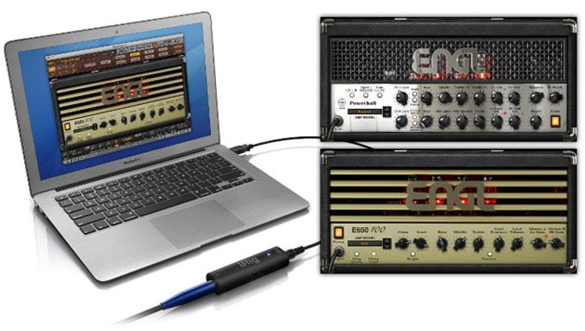 IK Multimedia Announces AmpliTube ENGL