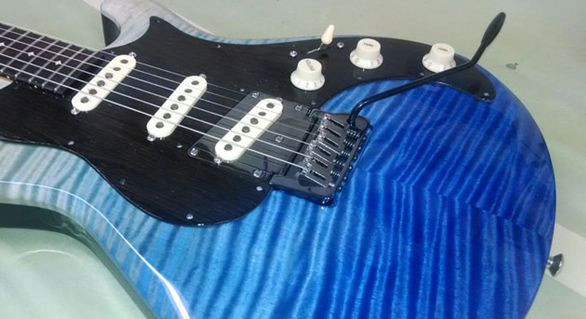 Knaggs Guitars Introduces New Tremolo System