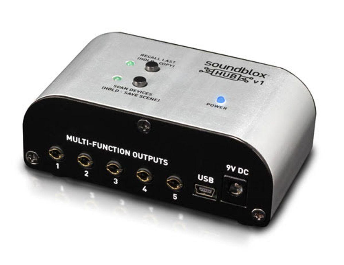 Source Audio Announces the Soundblox Hub