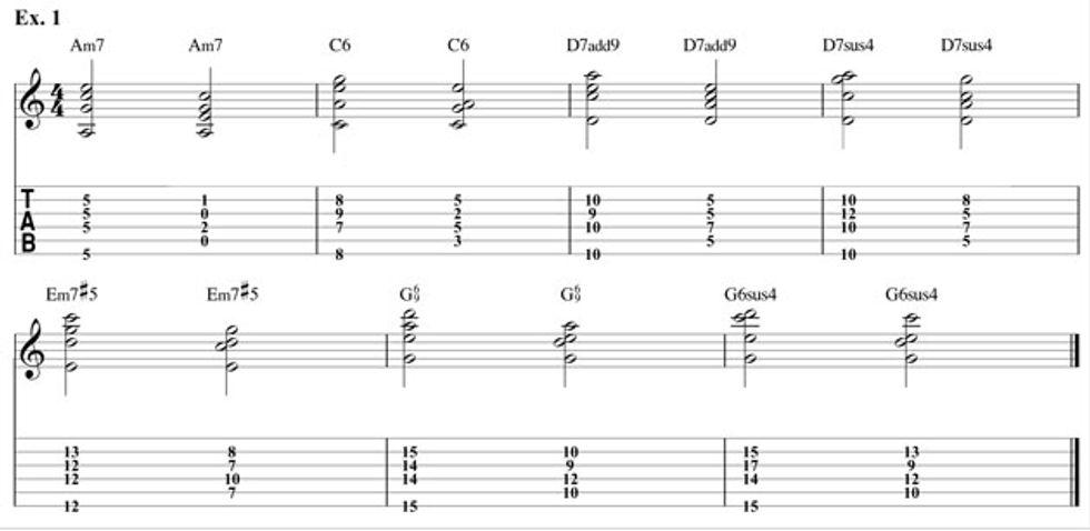 Digging Deeper: Pentatonic Chords | 2014-04-10 | Premier Guitar