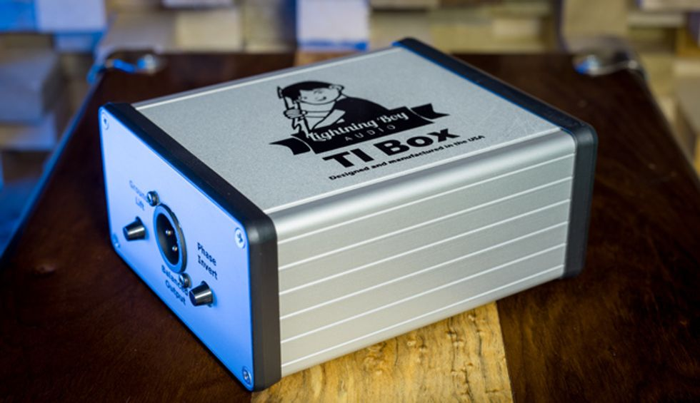 Lightning Boy Audio Introduces the TI Box