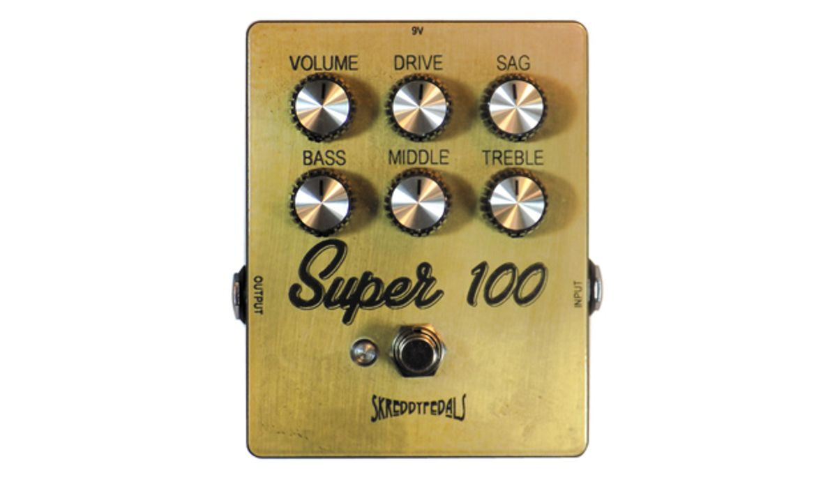 Skreddy Pedals Releases the Super 100
