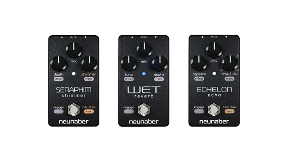 Neunaber Audio Releases the Elements Series