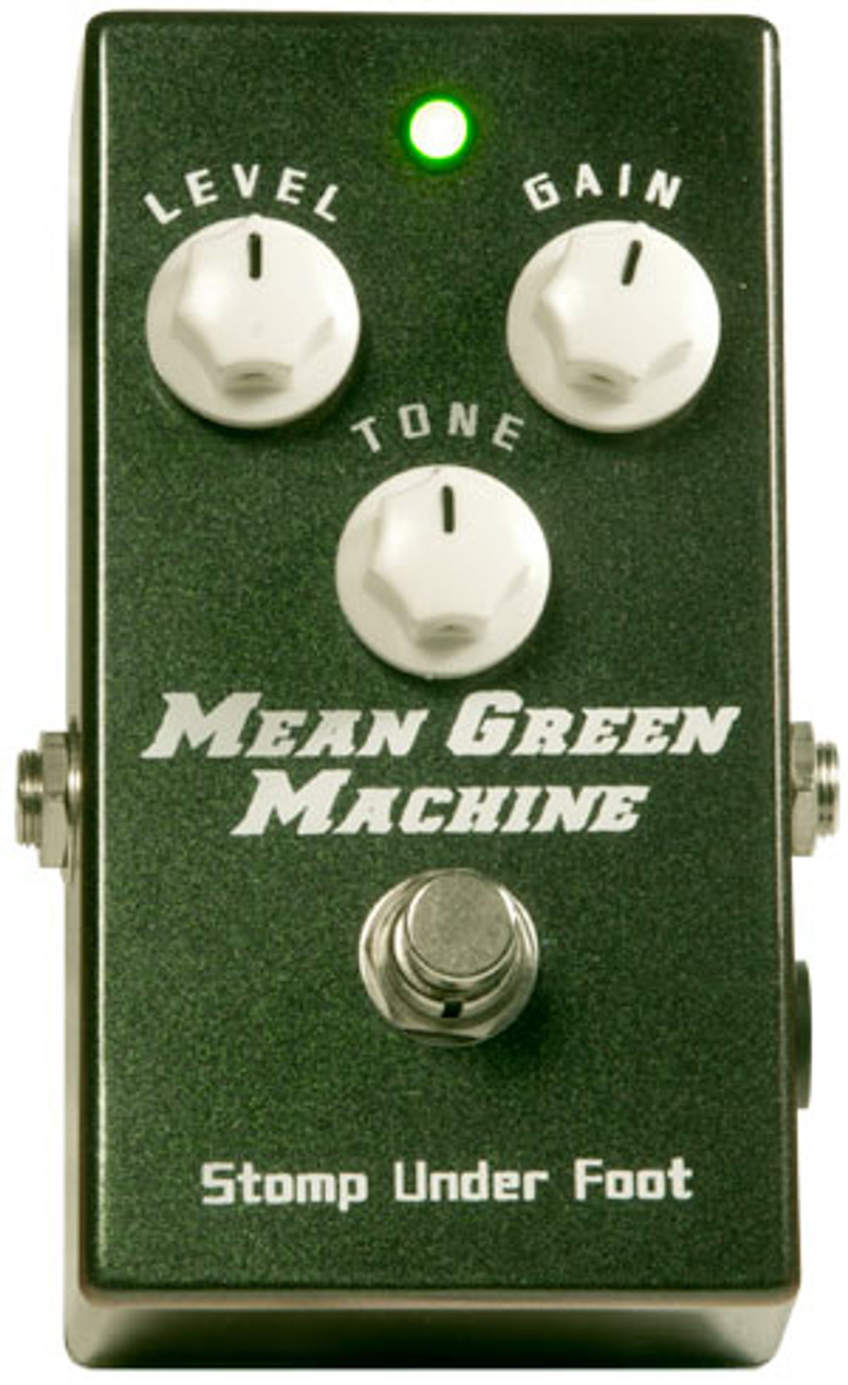 Stomp Under Foot Mean Green Machine Pedal Review