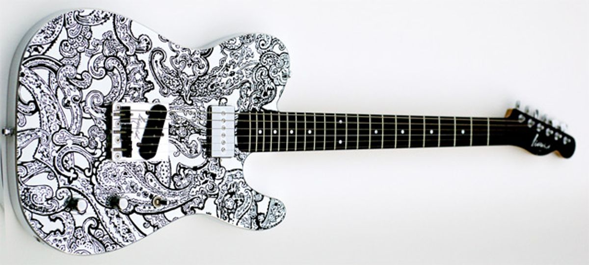 Liquid Metal Guitars Releases LMG-T Paisley