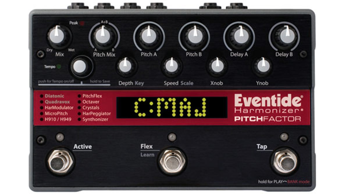 Eventide PitchFactor Review