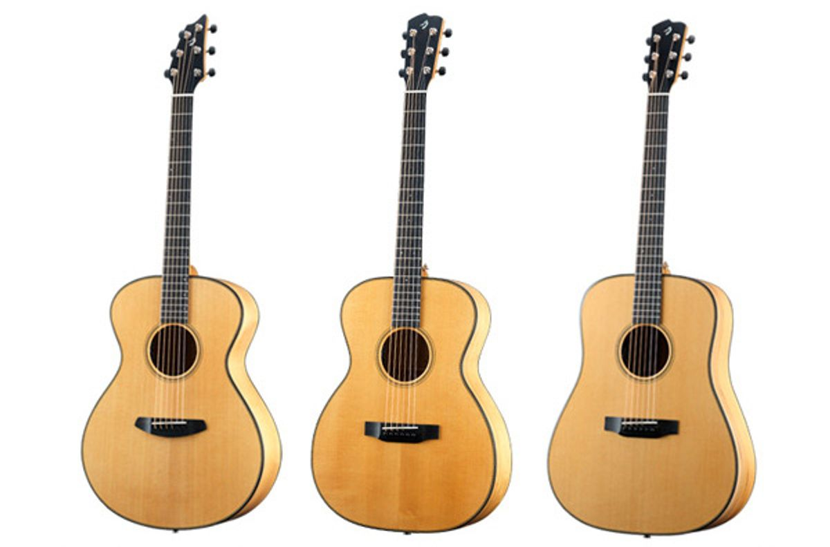 Breedlove Announces the Oregon Series Acoustic Guitars