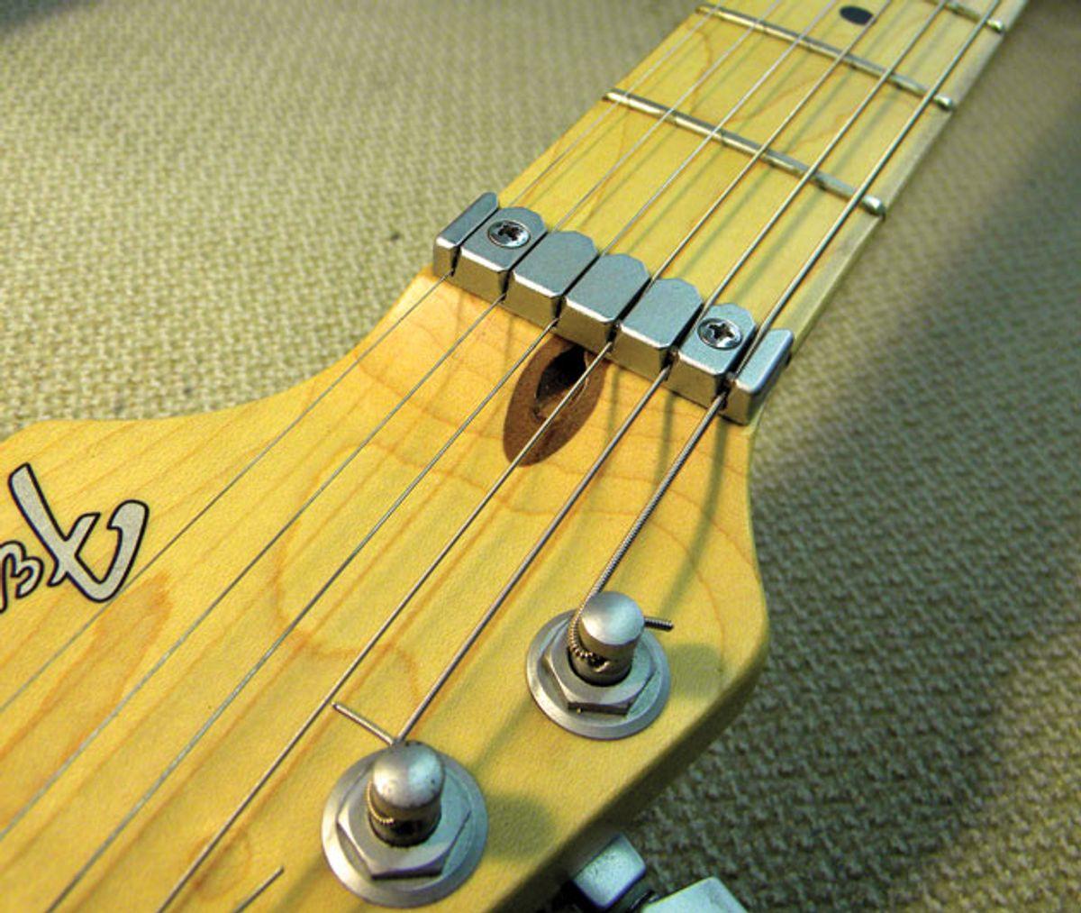 Guitar Shop 101: Dealing with a Stripped Truss-Rod Nut