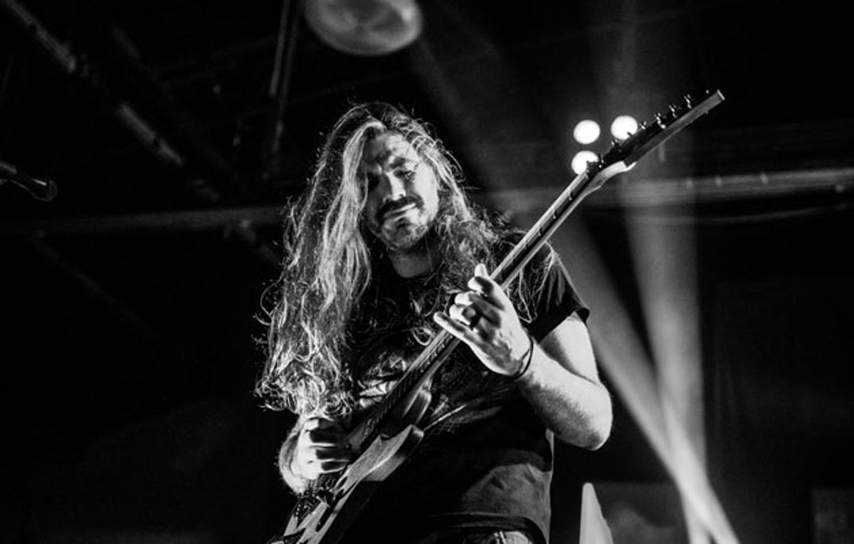 Between the Buried and Me's Paul Waggoner