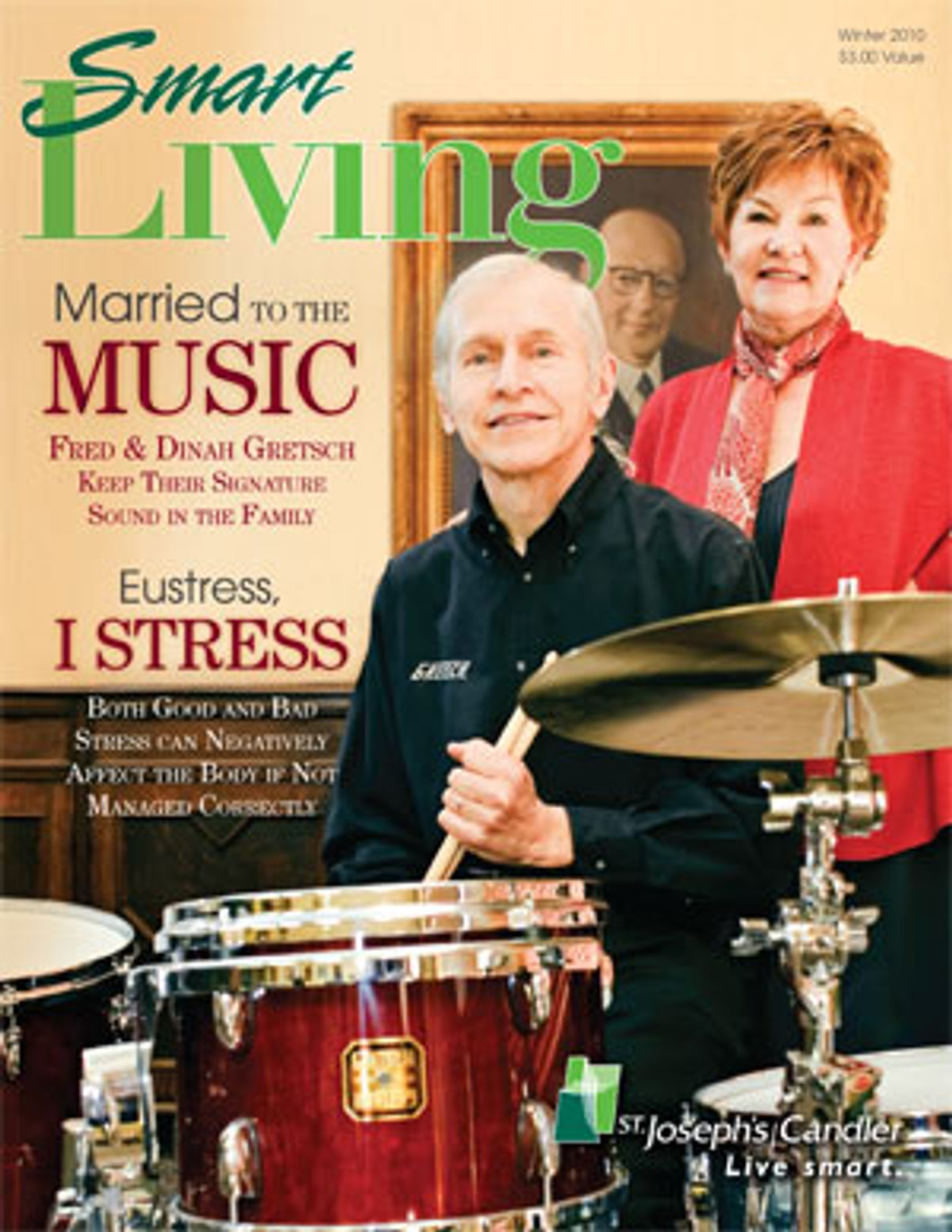Fred & Dinah Gretsch Recognized in Magazine Cover Story