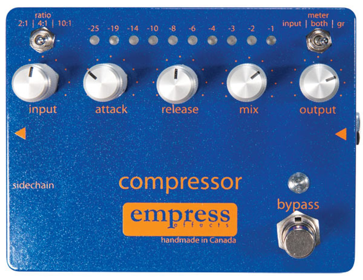 Empress Effects Compressor Pedal Review