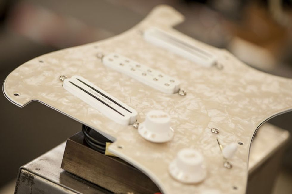 Seymour Duncan Releases the Dave Murray Loaded Pickguard   Premier ...
