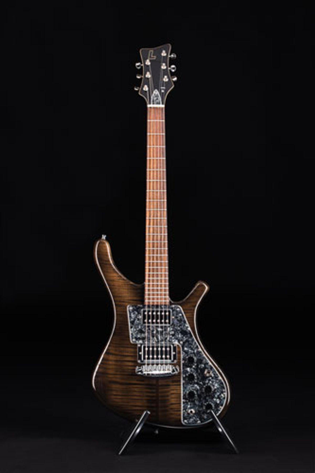Lucem Guitars Unveils Deluxe Nick McCabe Paradox Model