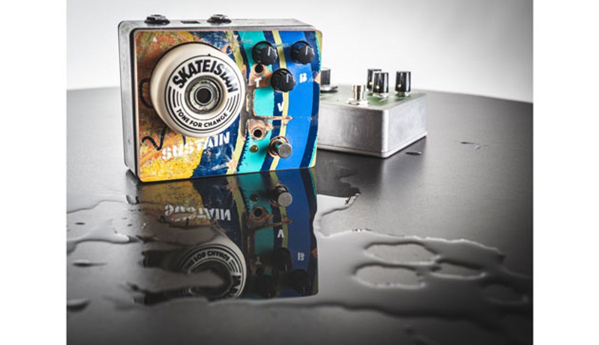 KHDK Electronics Partners with Skateistan to Create Fuzz Pedal