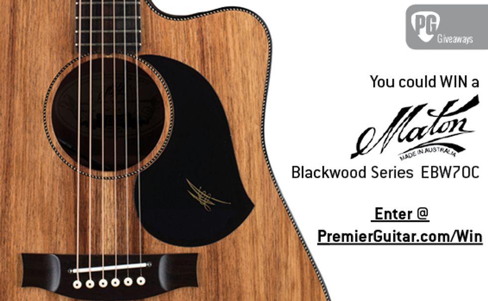 PG Giveaways: Maton EBW70C | 2019-06-19 | Premier Guitar