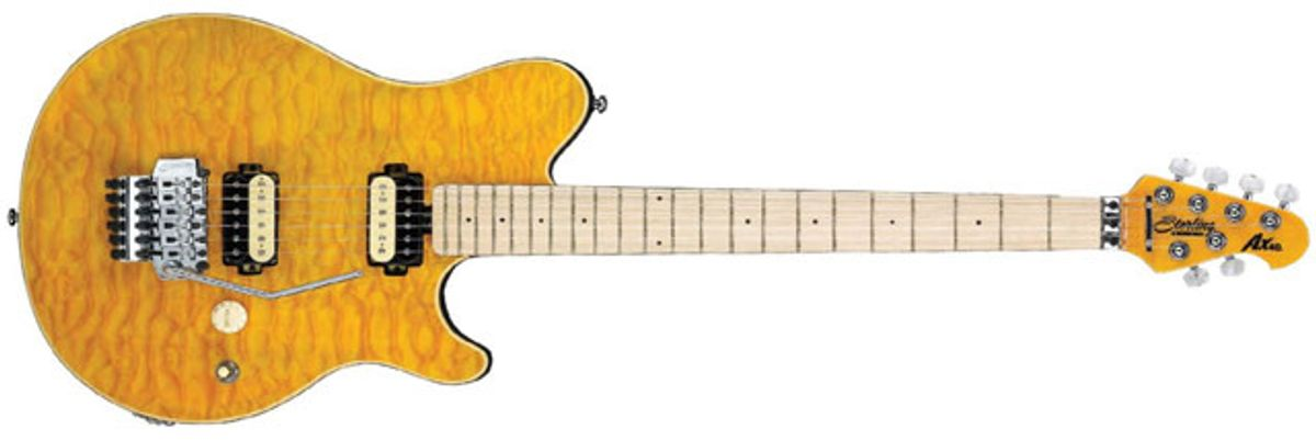 Sterling by Music Man AX40 Electric Guitar Review