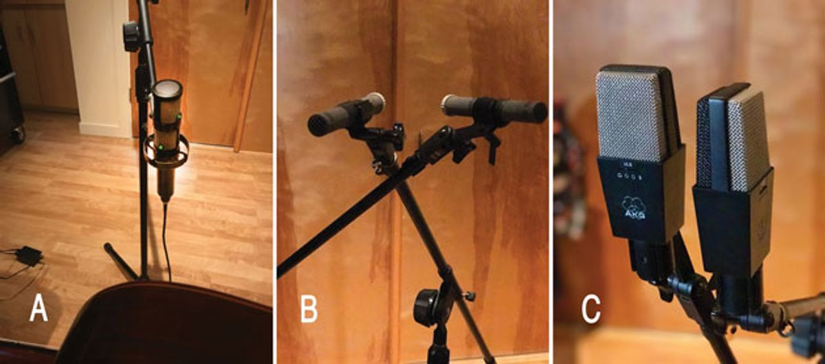 The Recording Guitarist: A Study In Stereo Miking
