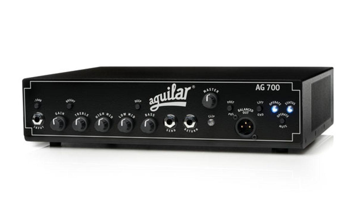 Aguilar Amplification Announces the AG 700 Amplifier