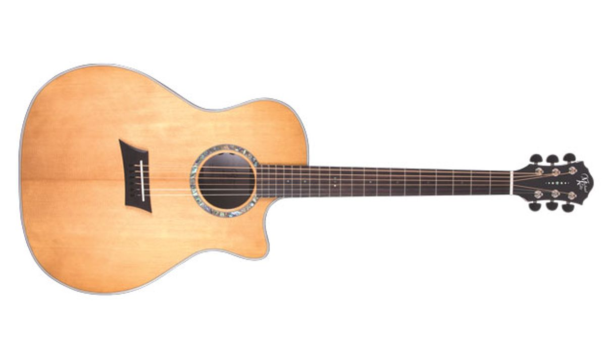 Michael Kelly Guitars Introduces the 3D Grand Auditorium