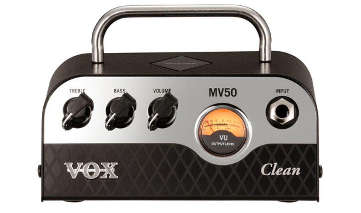Vox Releases the MV50 Amplifier