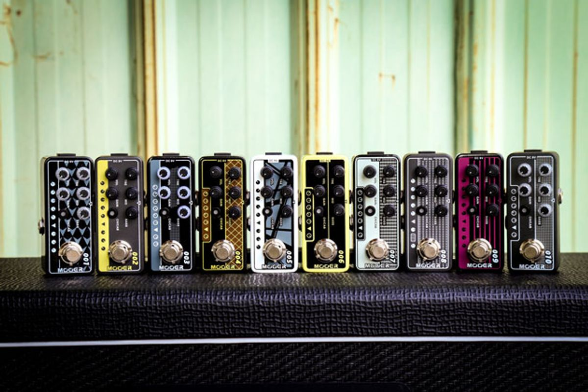 Mooer Unveils Series of Micro Preamps