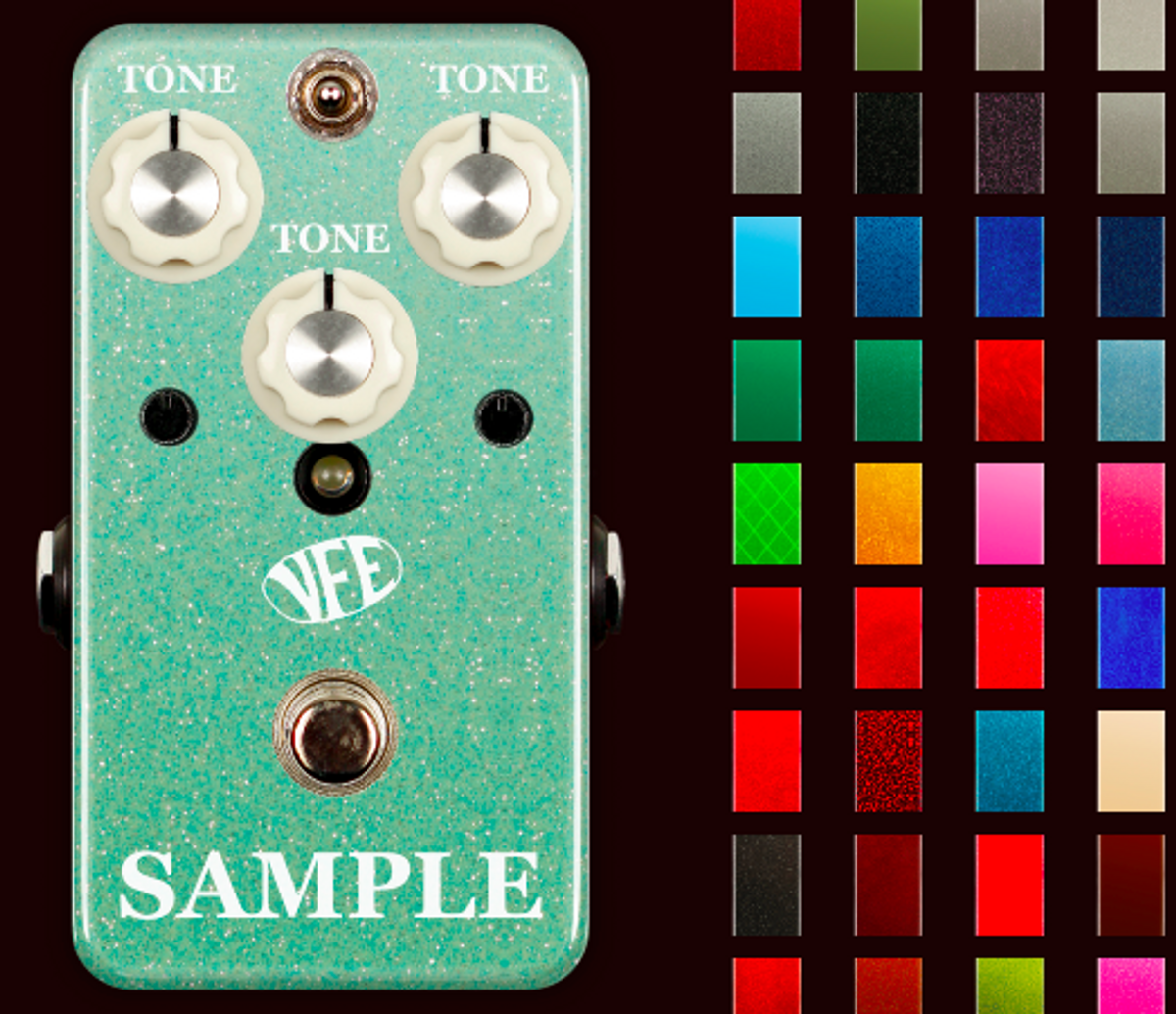 VFE Pedals Updates Custom Shop With Pedal Preview
