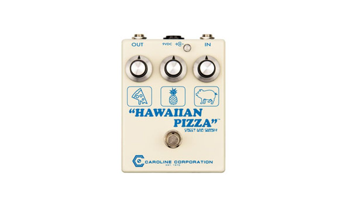 Caroline Guitar Company Releases the Hawaiian Pizza