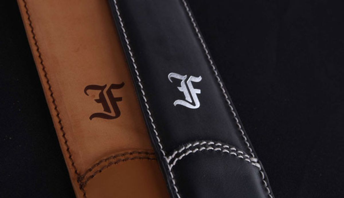 Furch Guitars Introduces Luxury Guitar Straps