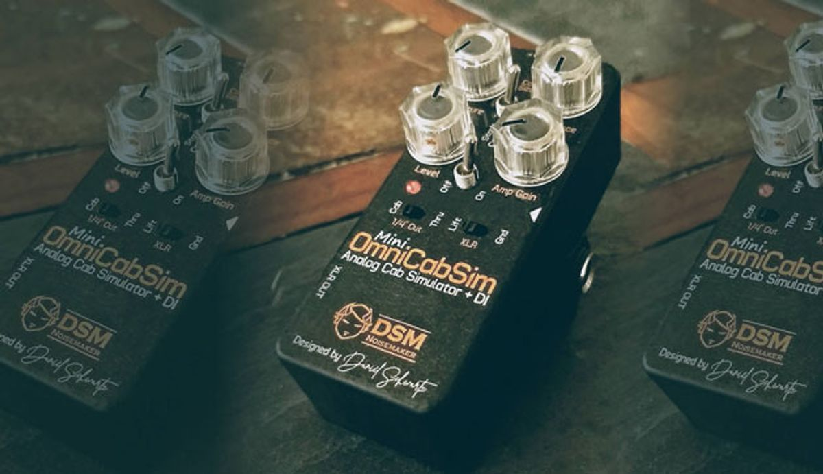 DSM Noisemaker Unveils the OmniCabSim Mini
