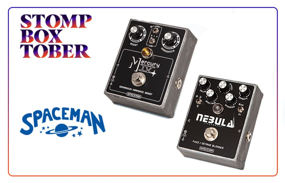 Stompboxtober 2018 Day #30: Spaceman Effects | 2018-10-30
