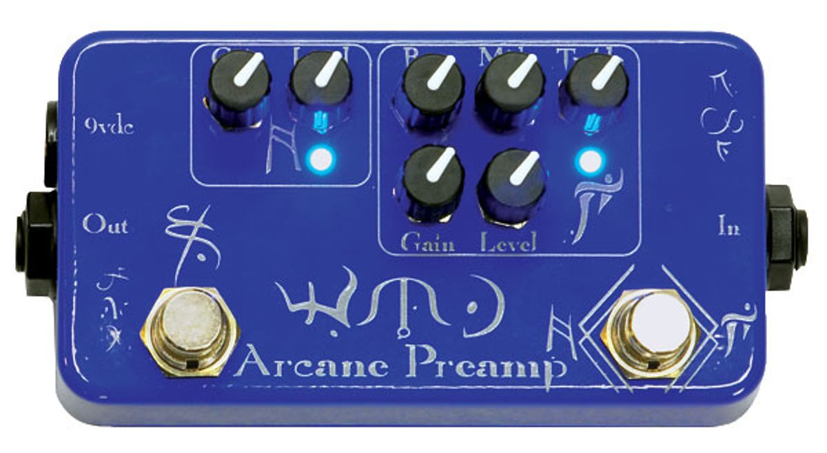 WMD Arcane Preamp Pedal Review
