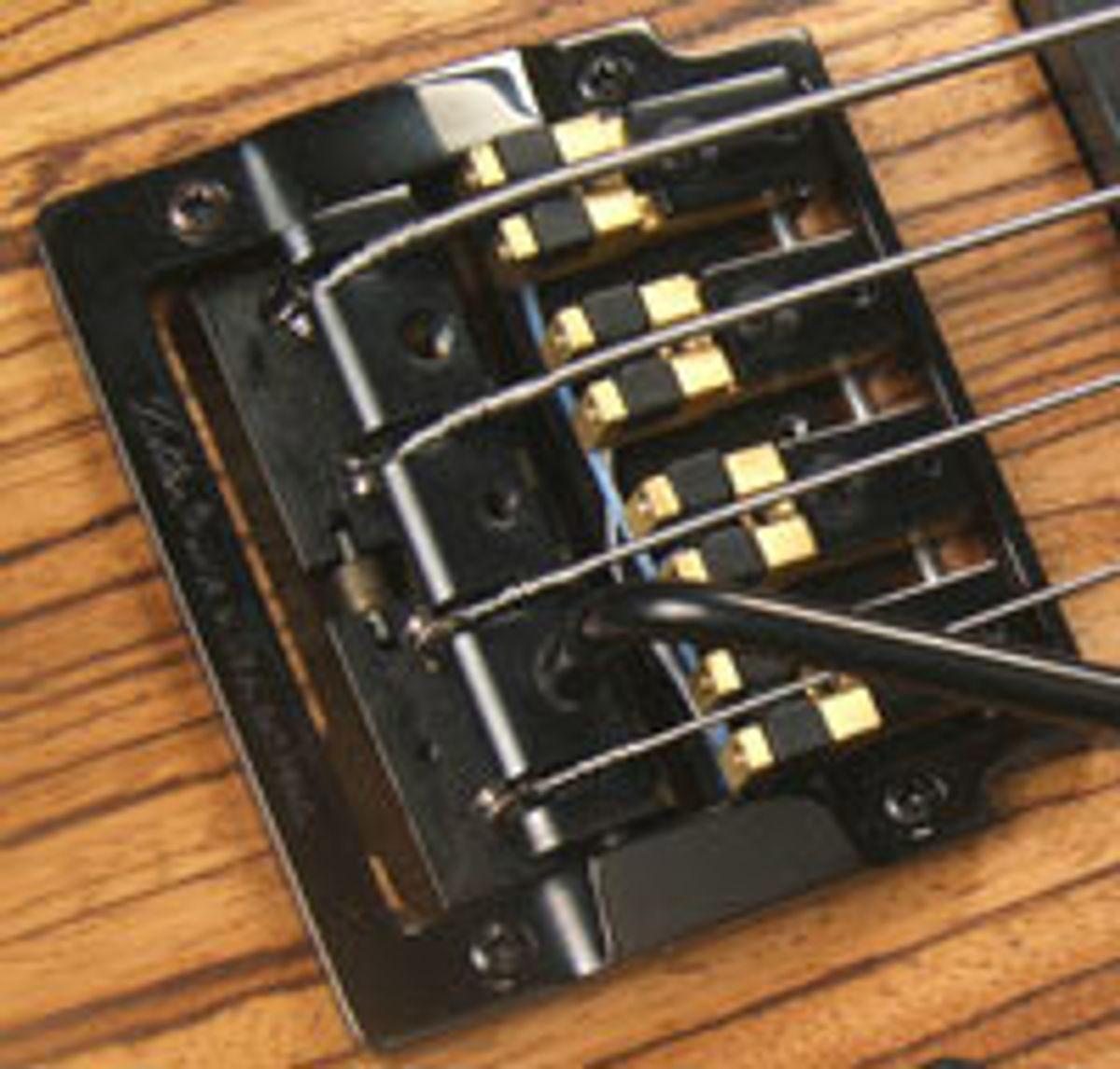 Brown's Guitar Factory Announces Acoustic MIDI Saddle Conversions for Bass Tremolo Bridges