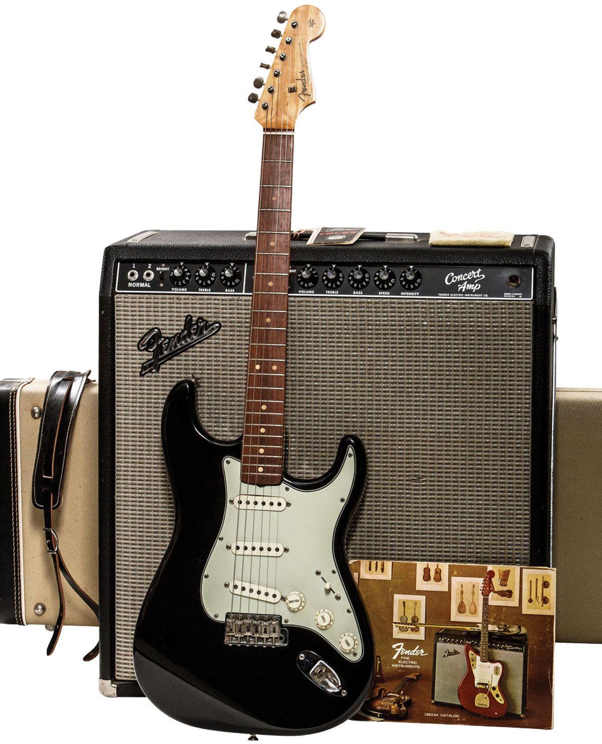 A Custom-Finished Fender Worth Five Figure$