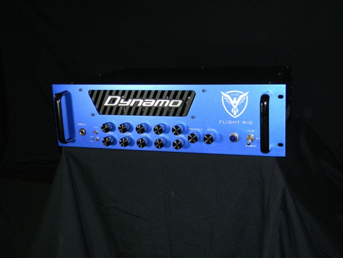 Dynamo Amplification Unveils the Flight Rig