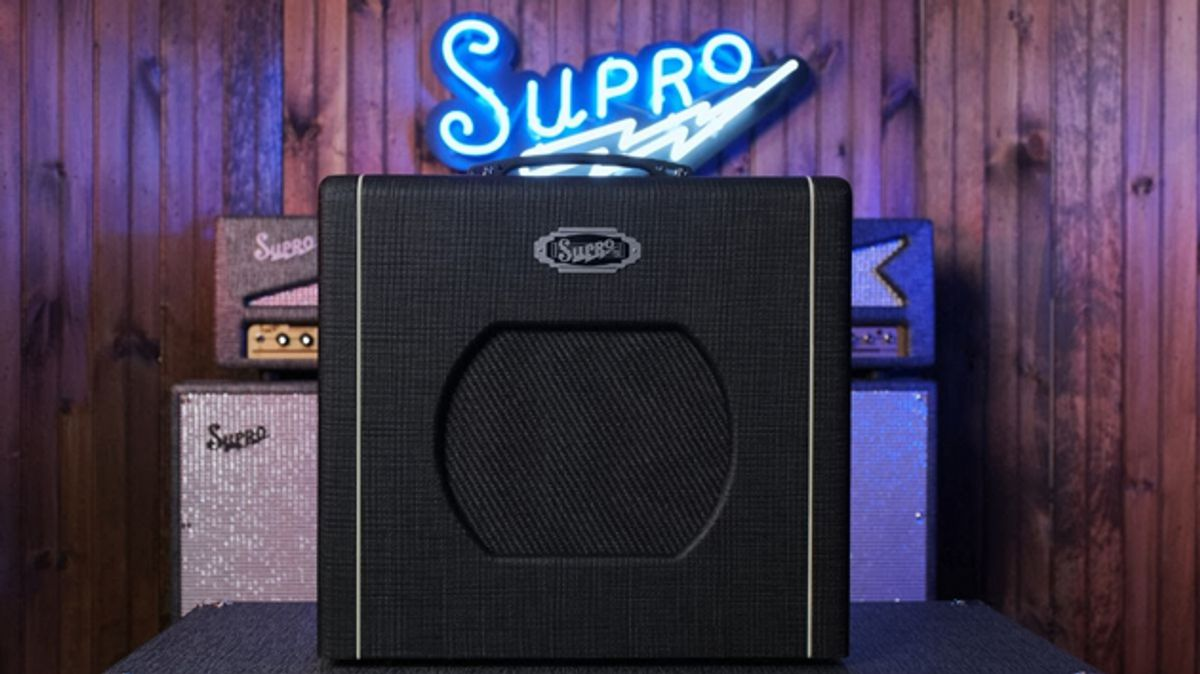 Supro Announces the Blues King 10