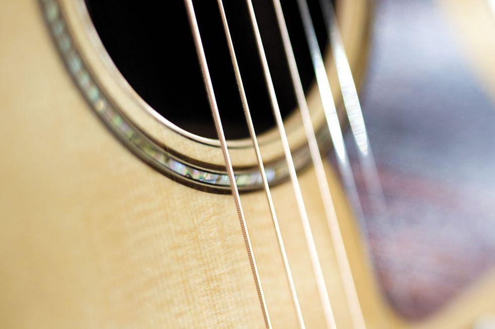 Do Bigger Strings Really Make for a Louder Acoustic Guitar?