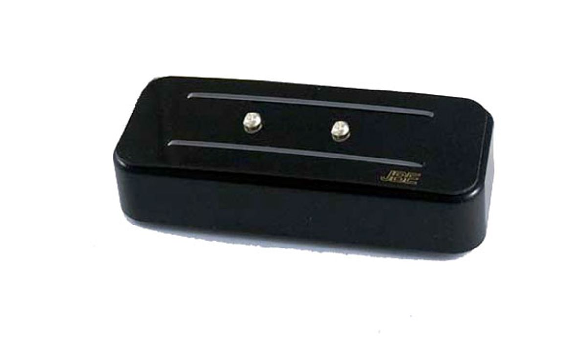JBE Pickups Unveils the Black Beauty Soapbar P-90