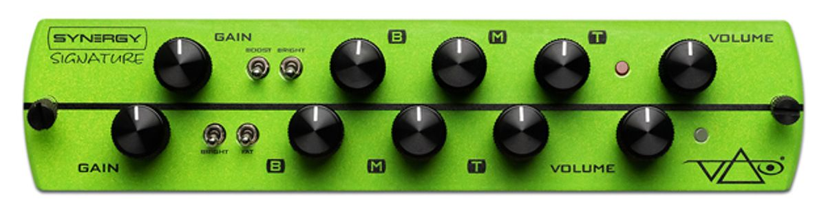 Synergy Amps Introduces the Steve Vai Signature Module
