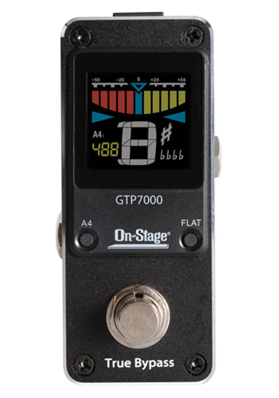 On-Stage Introduces the GTP7000 Mini Pedal Tuner