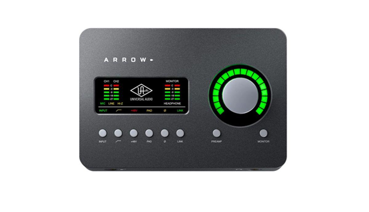 Universal Audio Launches the Arrow Desktop Audio Interface