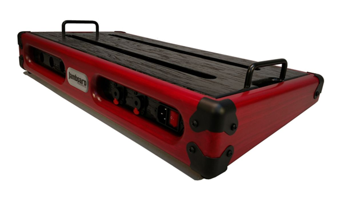 Jamboard Introduces the Pro Deluxe Pedalboard