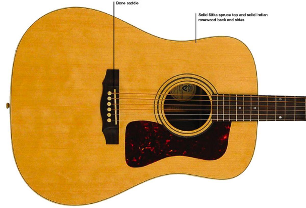 Guild D-50 Standard Acoustic Guitar Review