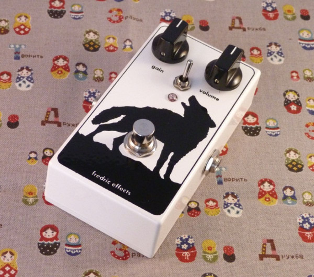 Fredric Effects Announces the Grumbly Wolf