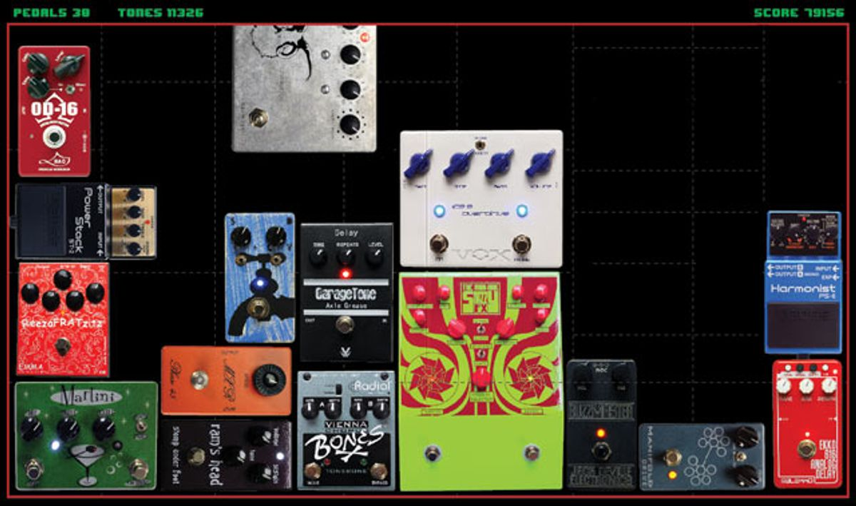 Tone Games 2010: 30 Stompboxes Reviewed