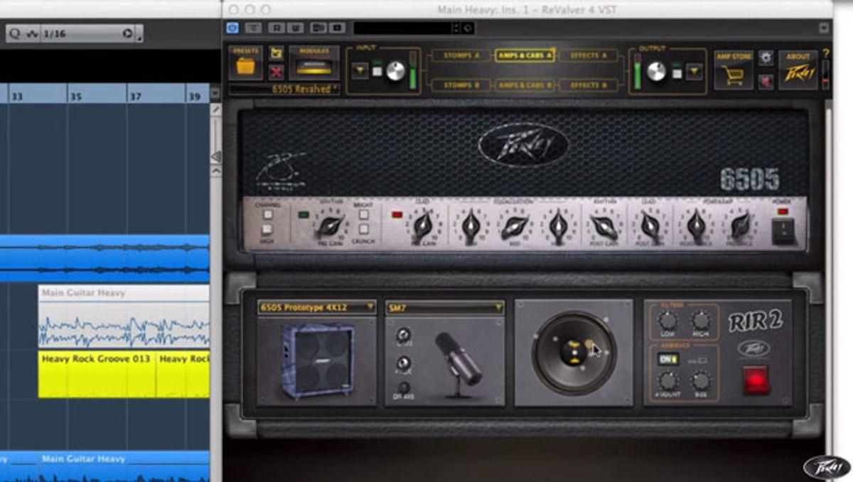 Peavey Releases ReValver 4