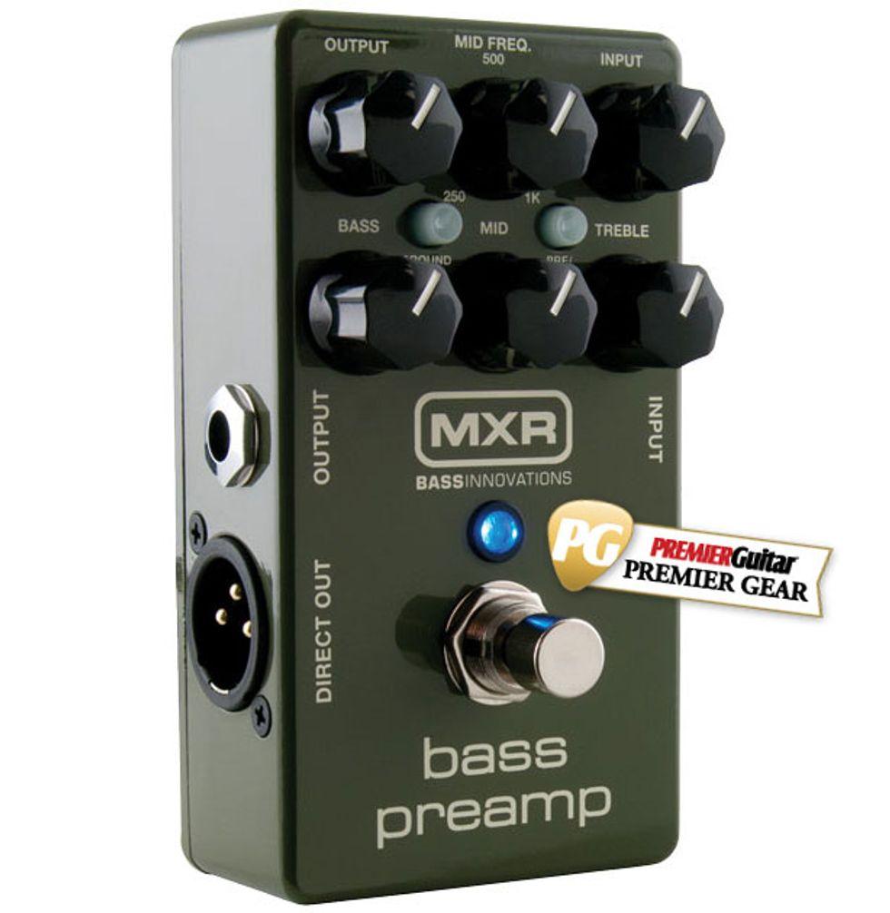 MXR M81 Bass Preamp Review | Premier Guitar